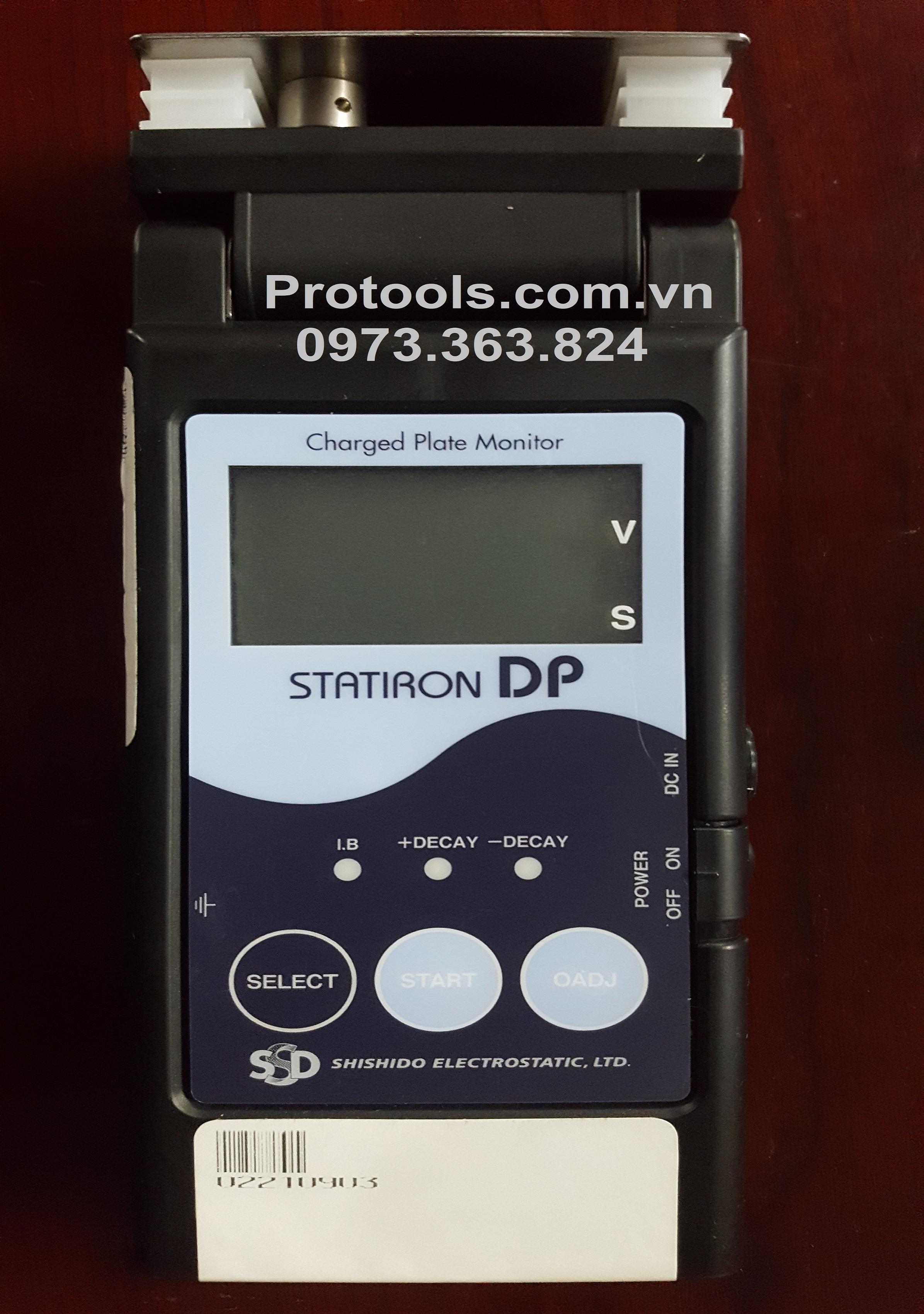 Máy đo độ tĩnh điện STATIRON DP