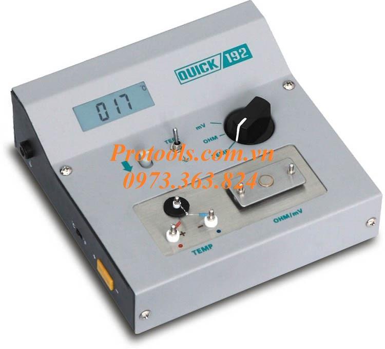 Máy đo nhiệt độ Quick 192