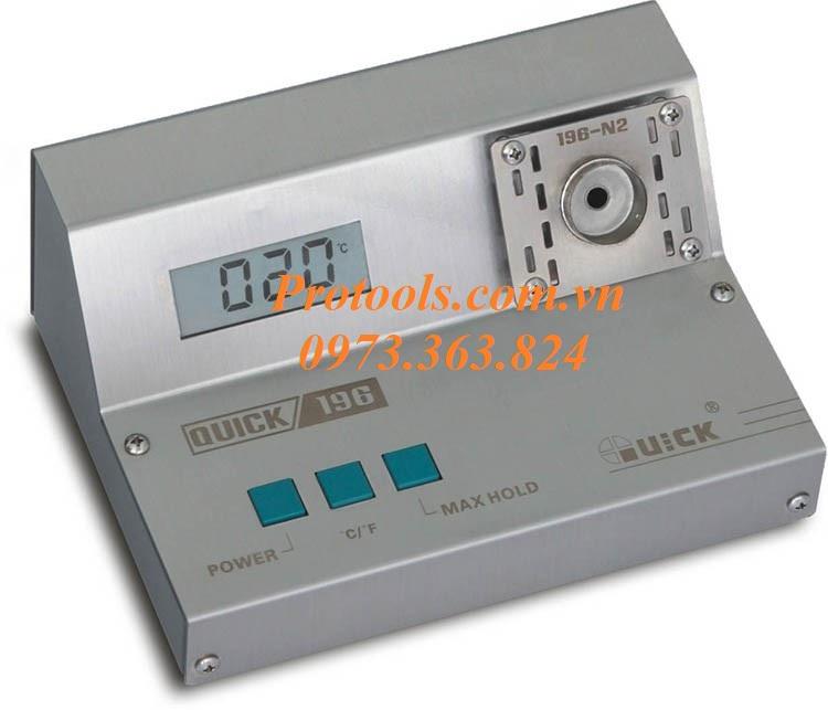 Máy đo nhiệt độ Quick 196