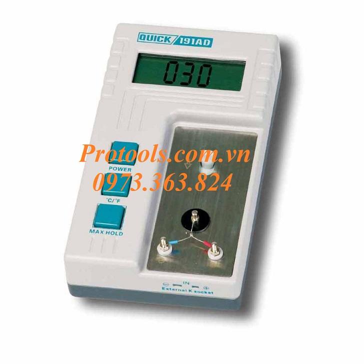 Máy đo nhiệt độ Quick 191AD